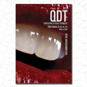 Quintessence of Dental Technology 2012 (QDT (QUINTESSENCE DENTAL TECHNOLOGY))