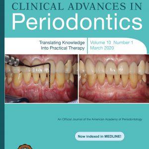 clinical advances in periodontics 2020-1