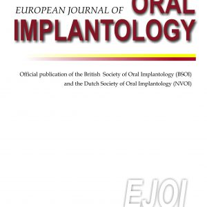 Journal of Oral Implantology 2019
